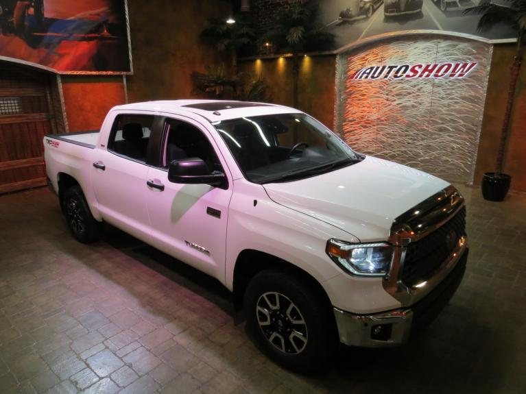 Used 2018 Toyota Tundra TRD Off-Road CrewMax *S.Roof, Nav & Htd Seats!* for sale $38,800 at Auto Show Sales and Finance in Winnipeg MB