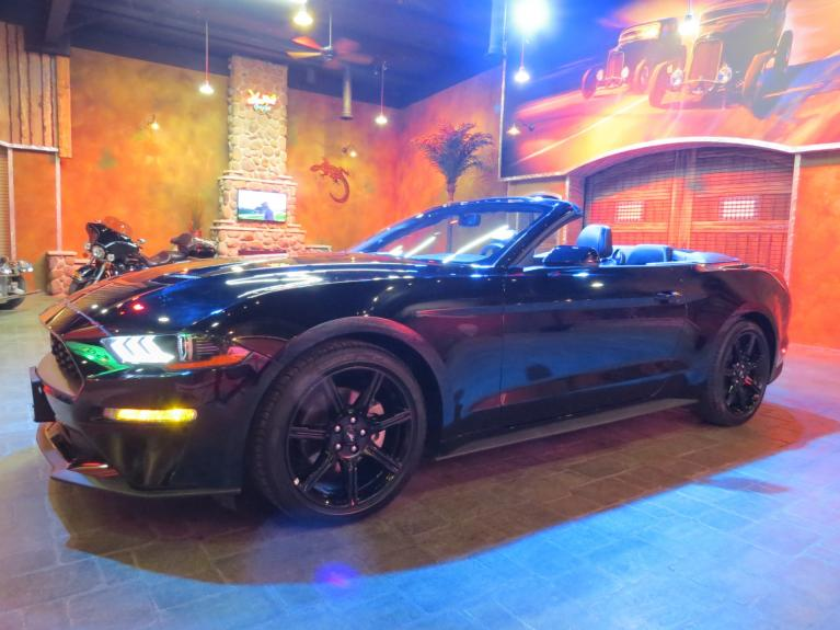 Used 2019 Ford Mustang Premium Conv - Nav, R.Start, Htd/Cooled Lthr!! for sale $34,675 at Auto Show Sales and Finance in Winnipeg MB