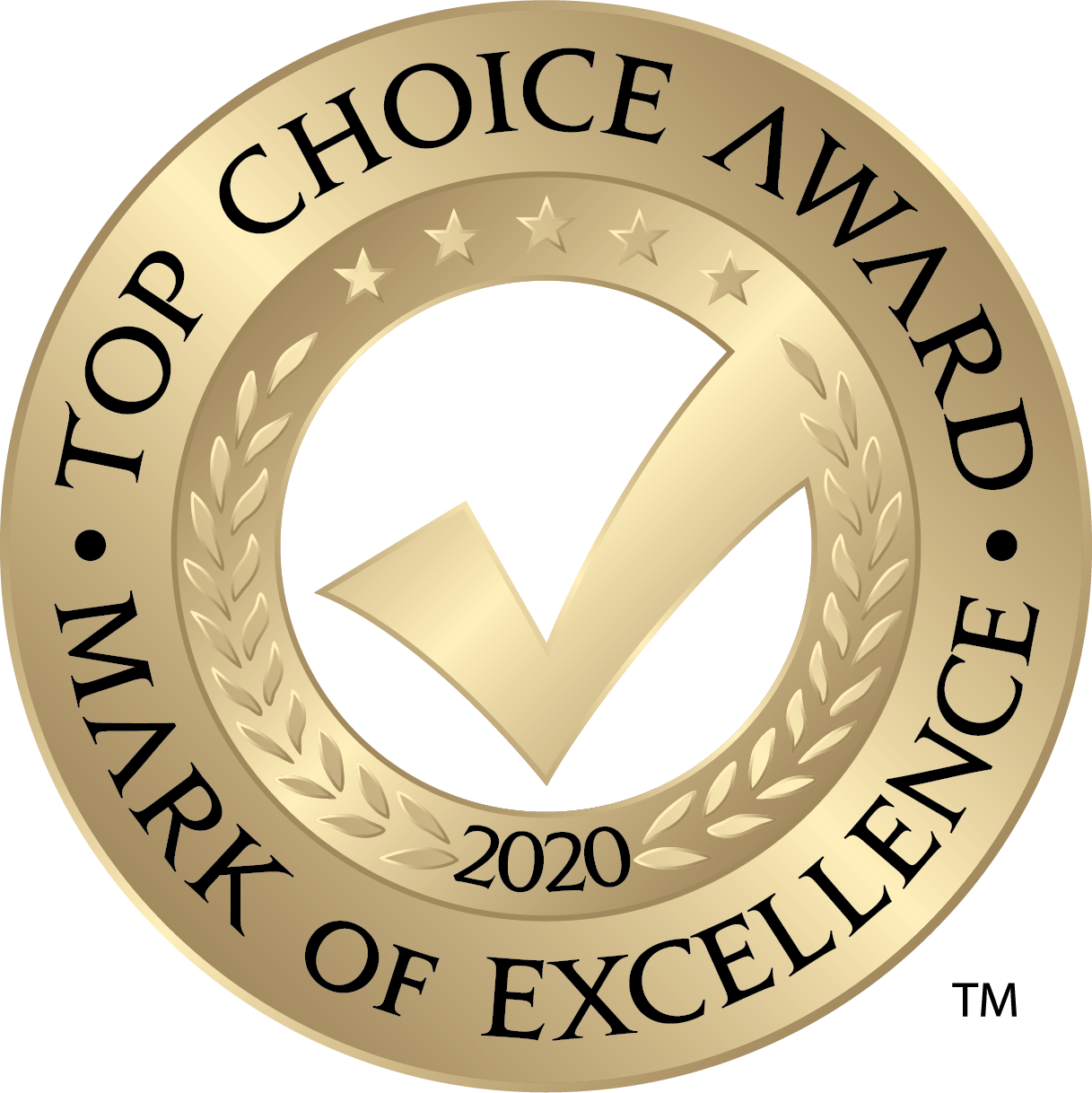 Top Choice Award - Mark of Excellence