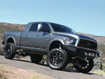 Lifted Pickup Truck