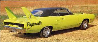 Yellow plymouth