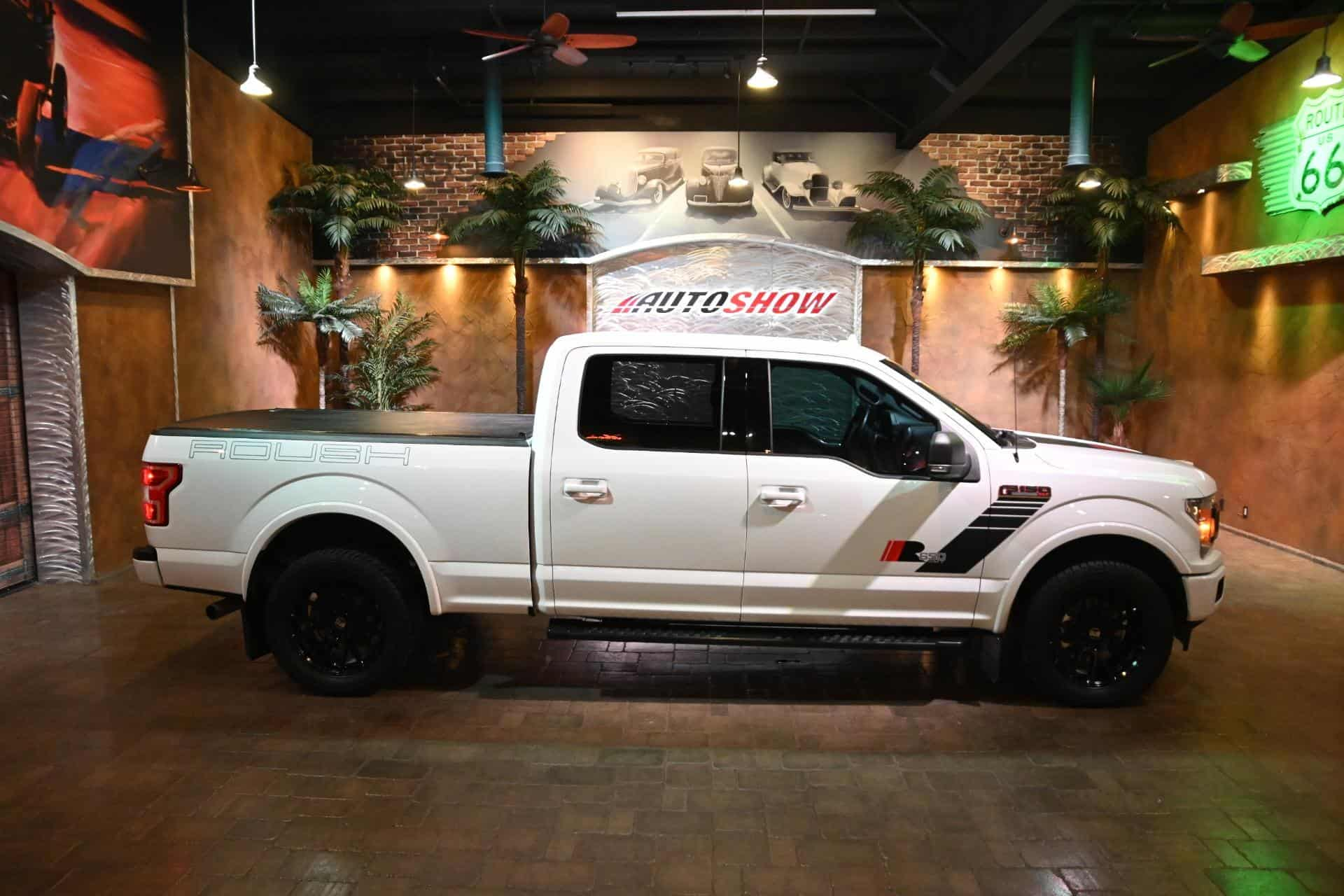 used 2018 Ford F-150 car, priced at $59,800